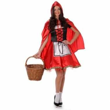 Foute kleding roodkapje voor dames