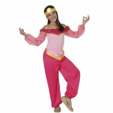Foute kleding roze arabische prinses
