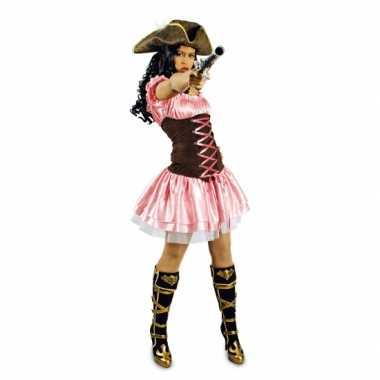 Foute kleding roze musketiersjurkje