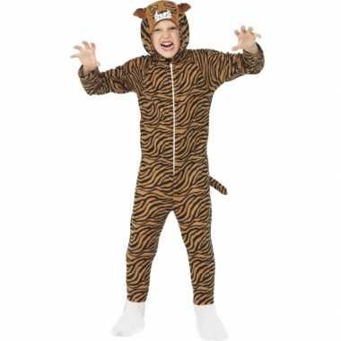 Foute kleding tijger all in one voor kinderen