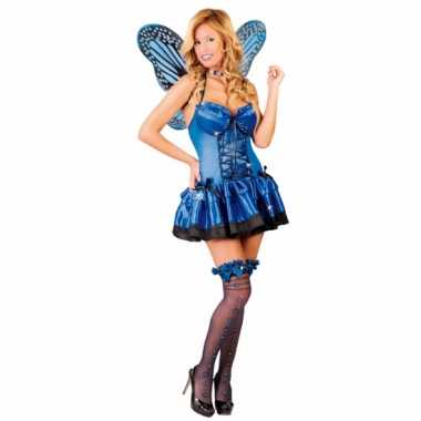 Foute kleding vlinder foute kleding blauw