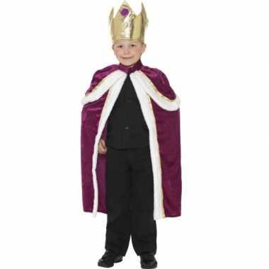 Foute koningen cape voor kids kleding