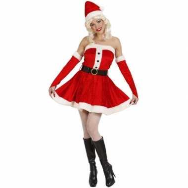 Foute kort dames kerstjurkje kleding