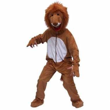 Foute leeuwen pakken bruin kleding