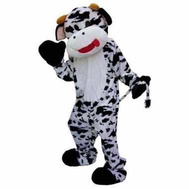 Foute mascotte pak koe kleding