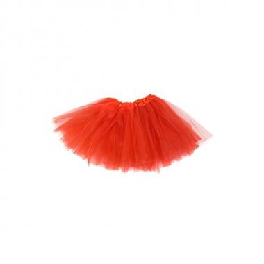 Foute meisjes rokje rood kleding