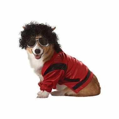 Foute michael jackson honden pakje kleding