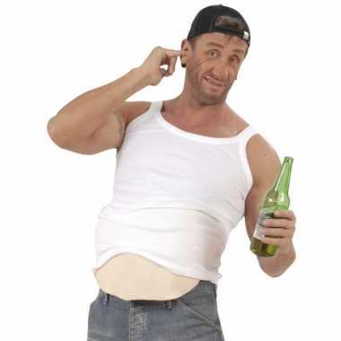 Foute nep bierbuik kussen kleding