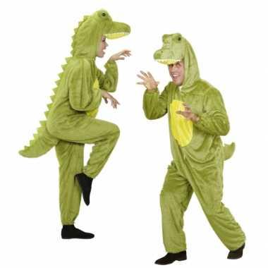 Foute onesie dierenpakken krokodil kleding