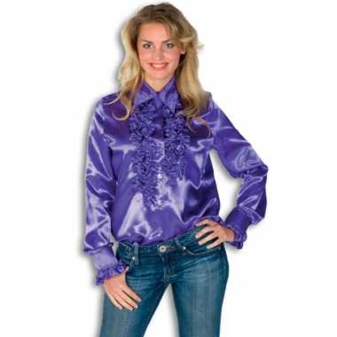Foute overhemd met rouches voor dames kleding