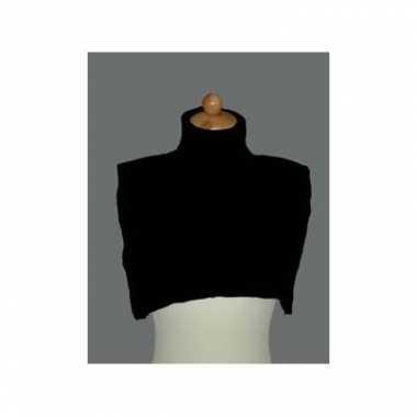 Foute pietcol zwart kleding
