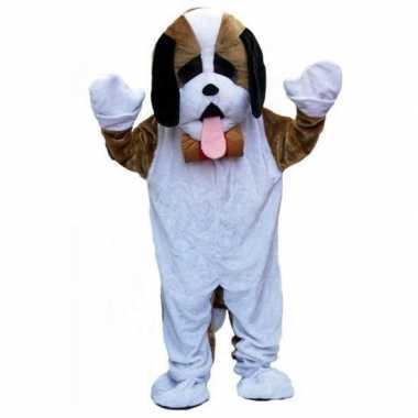 Foute pluche honden pak kleding