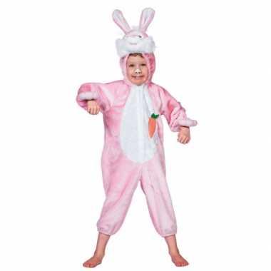 Foute pluche konijn pak voor kinderen kleding