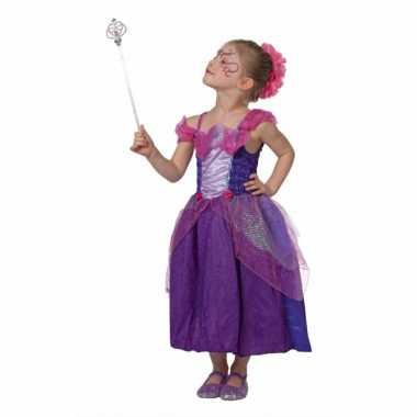 Foute prinsessen jurk voor meisjes paars kleding