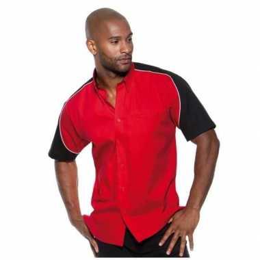 Foute race shirt rood voor heren kleding