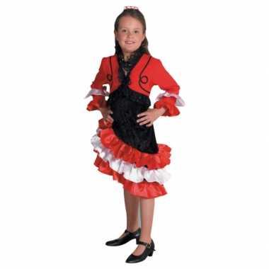 Foute rood flamengo jurkje voor meiden kleding