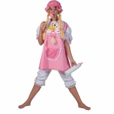 Foute roze babypak voor volwassenen kleding