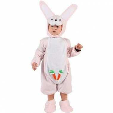 Foute roze konijnenpakje voor een baby kleding