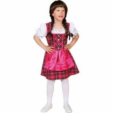 Foute roze oktoberfest jurk voor kinderen kleding