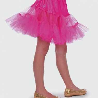 Foute roze onderrokje voor meisjes kleding