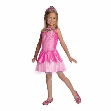 Foute roze prinsesen jurkje voor meisjes kleding