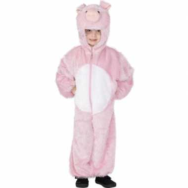 Foute roze varkentjes pak kleding