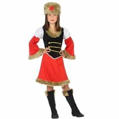 Foute russische kozakken jurk voor meisjes kleding