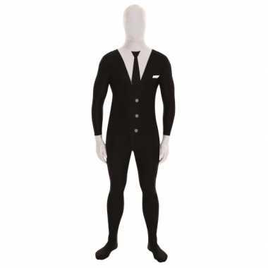 Foute kleding pak businessman zwart