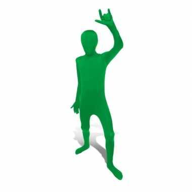 Foute second skin pak groen voor kids kleding
