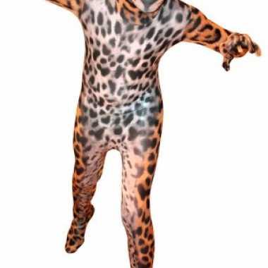 Foute kleding pak met luipaard print