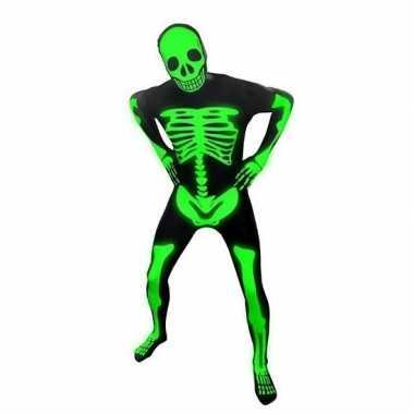 Foute kleding pak skelet