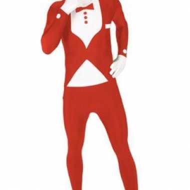 Foute kleding pak smoking rood