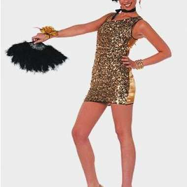 Foute sexy jurken goud pailletten kleding