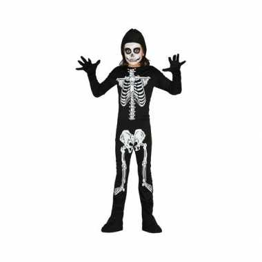 Foute skelet pak voor kinderen kleding
