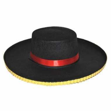 Foute spaanse heren hoed antonio kleding
