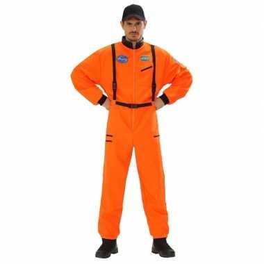 Foute space overall oranje voor heren kleding
