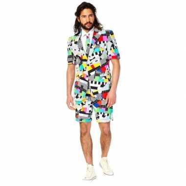 Foute summersuit testbeeld voor heren kleding