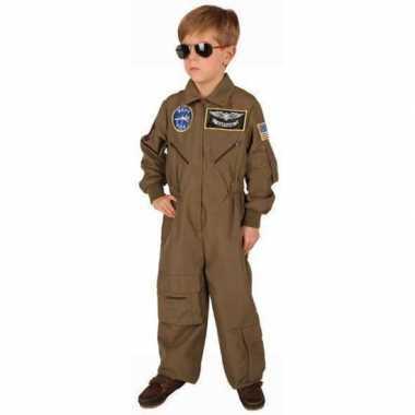 Foute topgun overall voor kinderen kleding