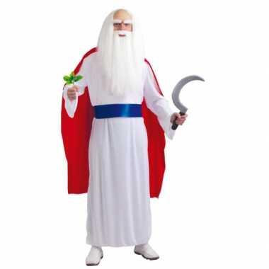 Foute tovenaars jurk met cape voor heren kleding