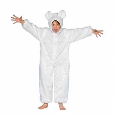 Foute wit berenpakje voor kinderen kleding