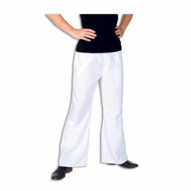 Foute witte broek voor heren kleding