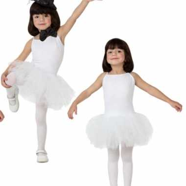 Foute witte tutu jurkje voor meisjes kleding