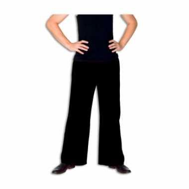 Foute zwarte broek voor heren kleding