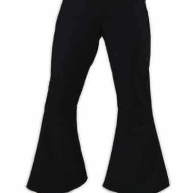 Foute zwarte dames sixties broek kleding