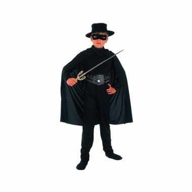 Foute zwarte held pakken pak voor kinderen kleding