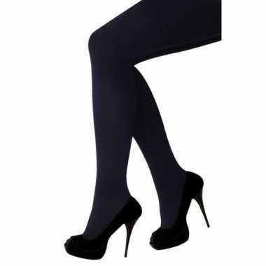 Foute zwarte thermo maillot voor pietenpak kleding