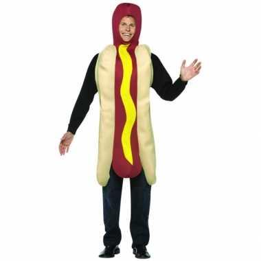 Funny foute kleding hot dog