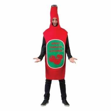 Funny foute kleding pak ketchup