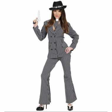 Gangster foute kleding voor dames