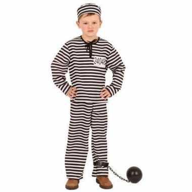 Gestreept gevangene foute kleding kinderen